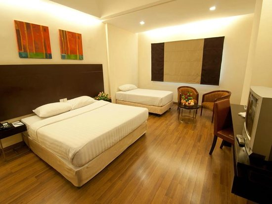 Hotel Sentral Riverview Melaka : Family Room