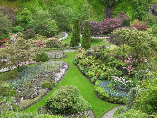 The Butchart Gardens: breathtaking