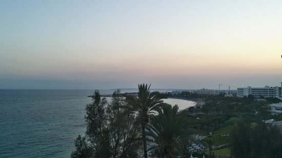 Grecian Sands Hotel: View from the hotel towards Ayia Napa Harbour