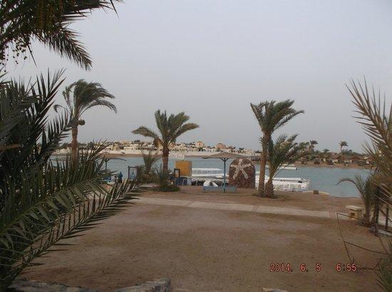 Dawar El Omda: beach