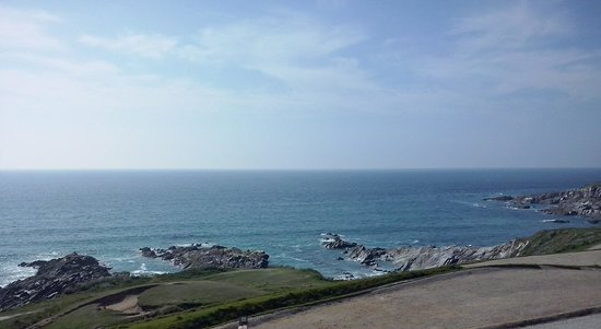The Headland Hotel & Spa - Newquay: view from our best room