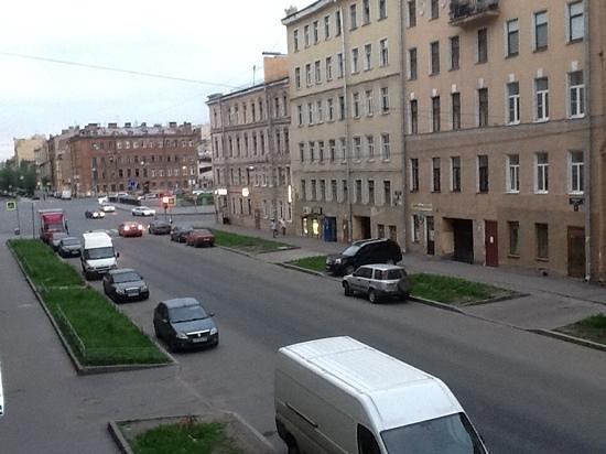 Ra Tambovskaya 11 Hotel: вид с окна