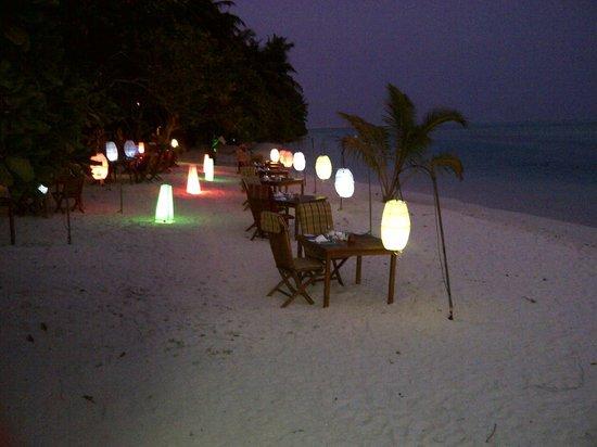 Sun Island Resort : resto la nuit