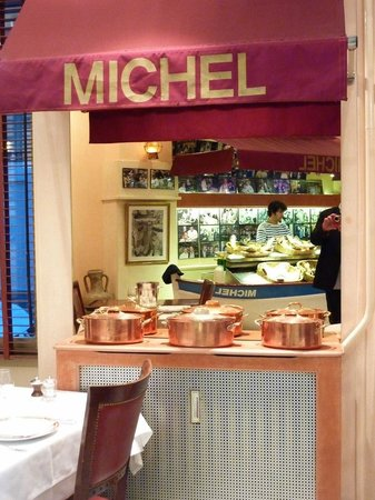 Restaurant Chez Michel: Innenraum