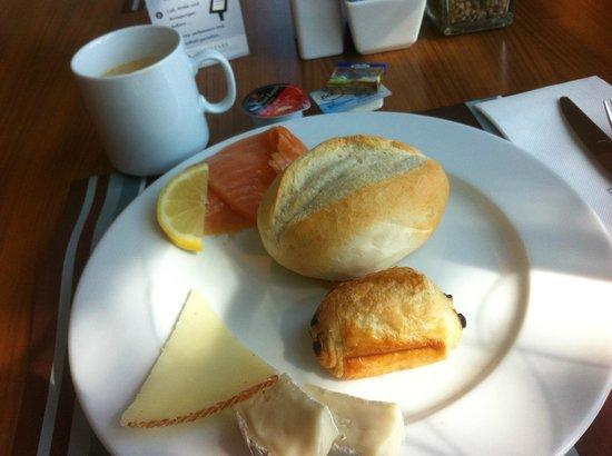 Eurostars Grand Central: Breakfast