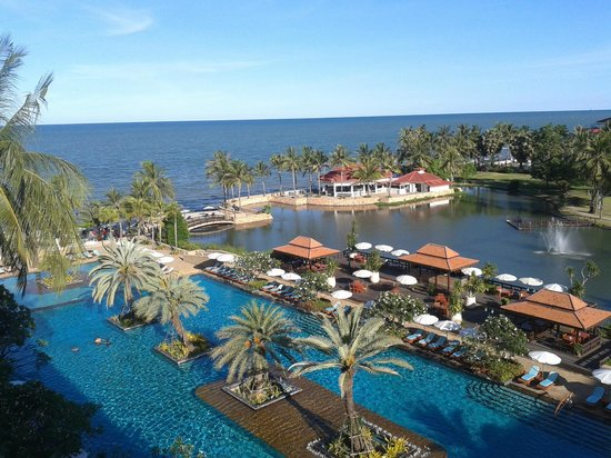 Dusit Thani Hua Hin : view from room