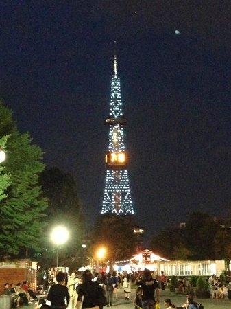 Odori Park: 公園から見た景色2