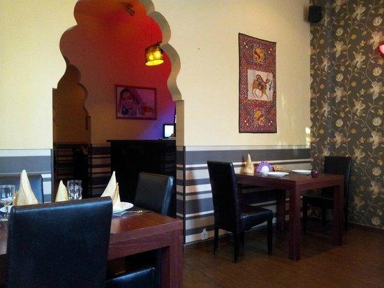 Haveli: Inside the restaurant