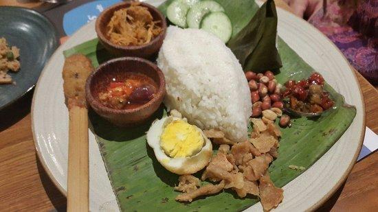 Satay Khas Senayan : Nasi Bali