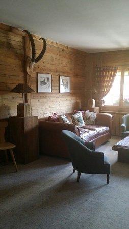Lounge Room in Hotel Kernen. Very nice