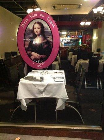 Mona Lisa On Lygon
