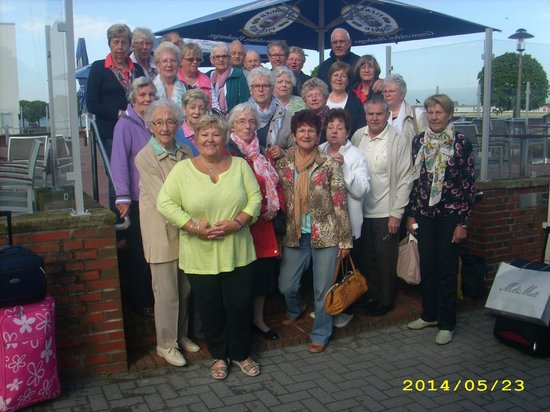 Hotel Admiral Scheer: Gruppe Seniorenclub SoVD Bad Oeynhausen