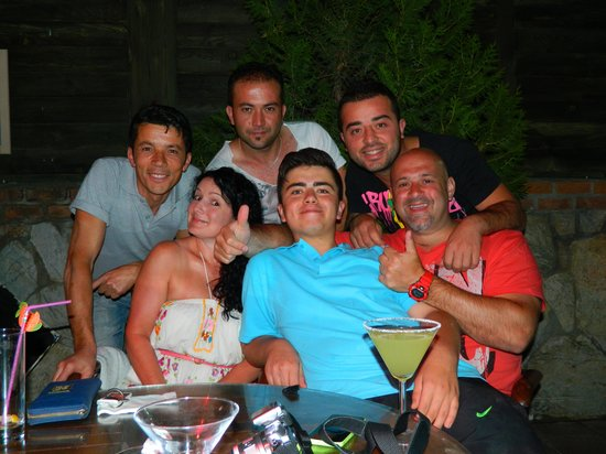 Montebello Delux Hotel: with Onur, Anil, Tommy and Recai