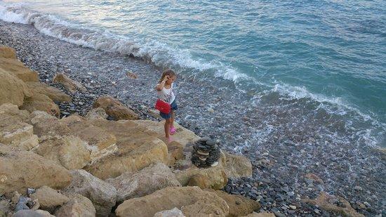 Ascos Coral Beach Hotel: Пляж отеля