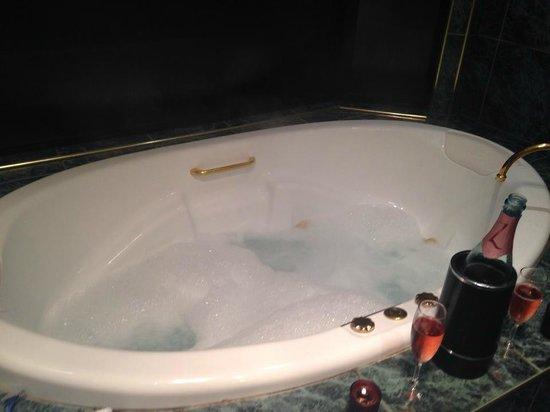 Escarpment Retreat : Gorgeous spa bath