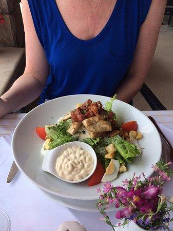 Hotel Bozica: Chicken ceaser salad
