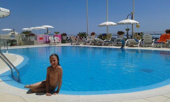 Manila Hotel : La piscina riscaldata