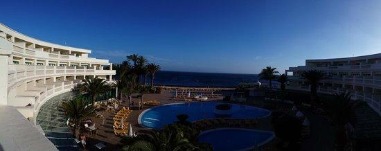 IBEROSTAR Lanzarote Park : Early evening panorama