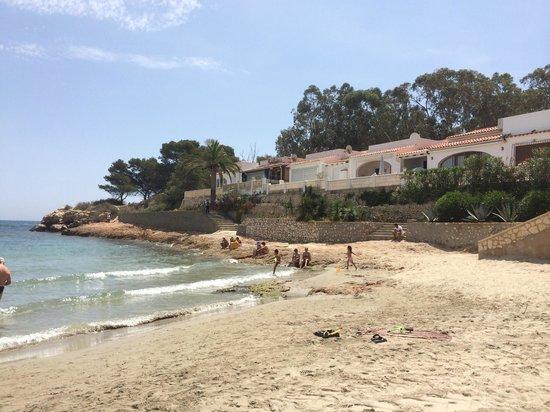 Playa de la Fossa o Levante : Rincón de la playa