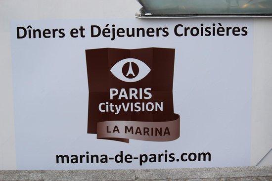 PARISCityVISION: La Marina, Seine dinner cruise