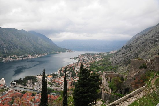 Palazzo Radomiri Hotel : Kotor from the Fortress