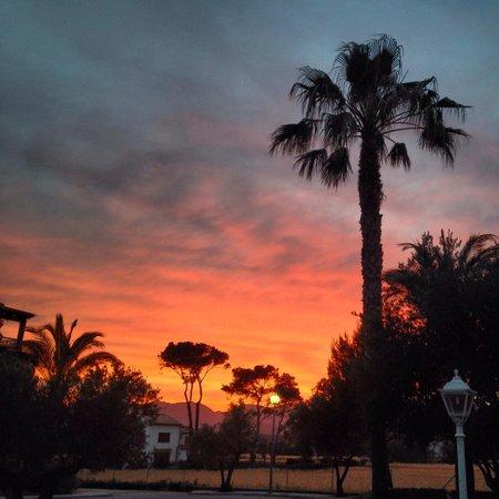 Aparthotel Club del Sol: Sunset