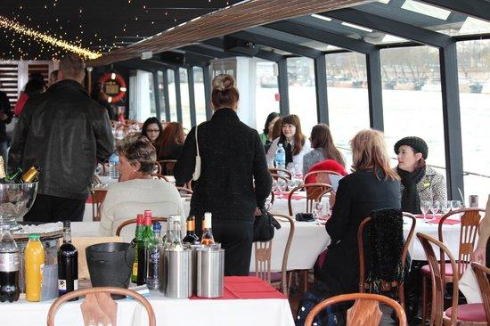PARISCityVISION : La Marina, Seine dinner cruise