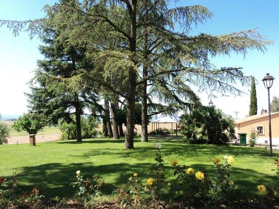 Poste del Chiugi: giardino