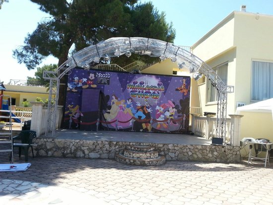 Piano Grande Residence: Zona palco
