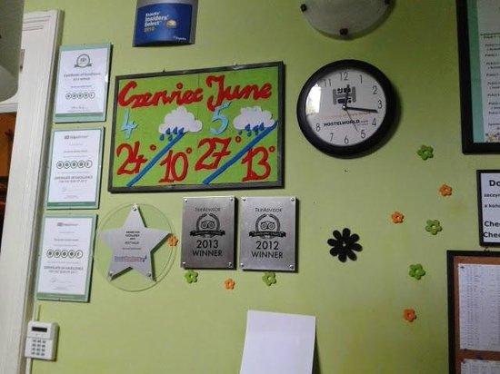 The Secret Garden Hostel: Reception