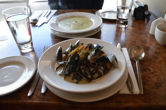 Francine's : mussels