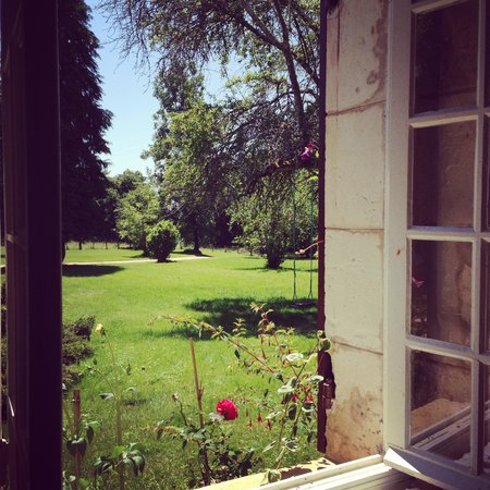 La Garinelle: View from the kitchen