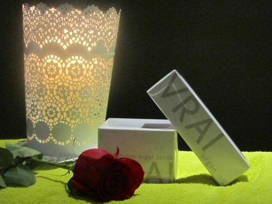 Chalet le Pot de Miel : Espace detente, massage sur reservation