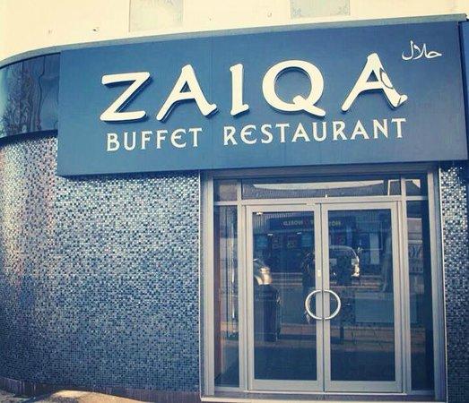 Zaiqa  buffet: Zaiqa Buffet Restaurants Entrance