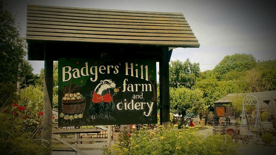 Chilham, UK: Badgers Hill Farm & Cidery