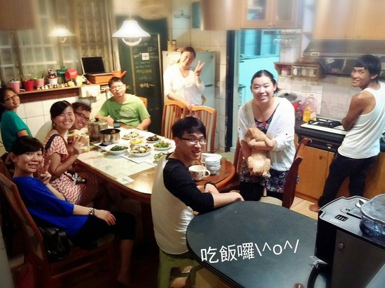 Susu Guesthouse : Kitchen party