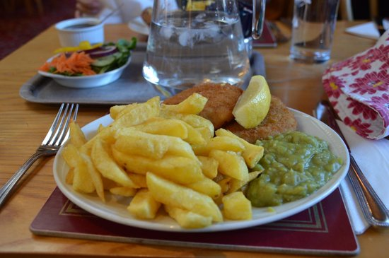 The Kingfisher : Fish n chip
