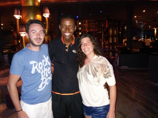 Paradisus Punta Cana: Con el mejor camarero Daniel!!!