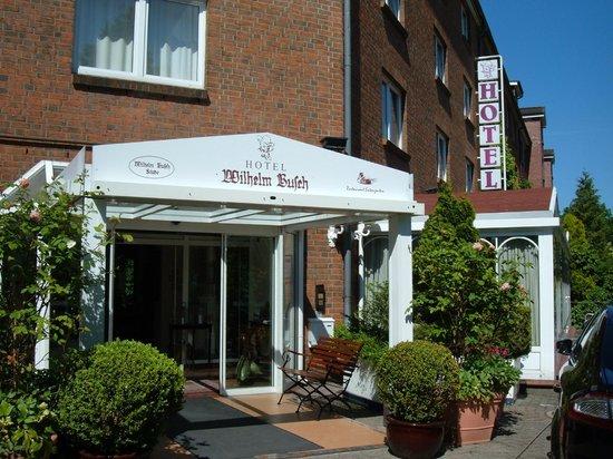 Hotel Wilhelm Busch: Eingang