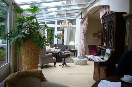 Hotel Wilhelm Busch : Teil vom Wintergarten
