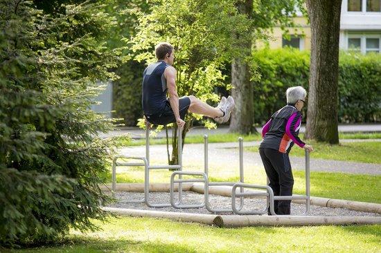 Hotel Bayern Vital: Sportangebot Generationenpark