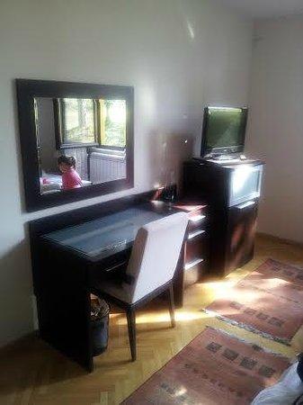 Hotel President: Working desk