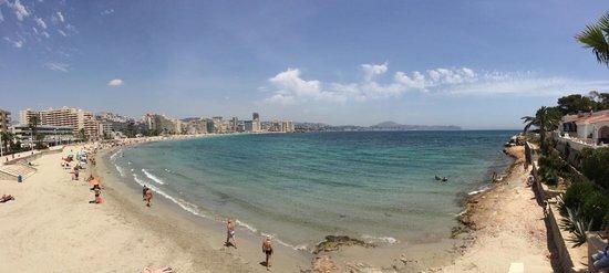 Playa de la Fossa o Levante : Vista panorámica