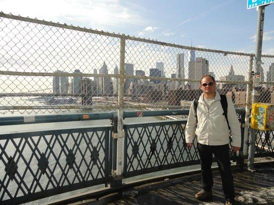 Manhattan Bridge: Vista da Manhatann Bridge