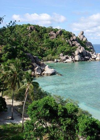 Freedom Beach: vue du bungalow