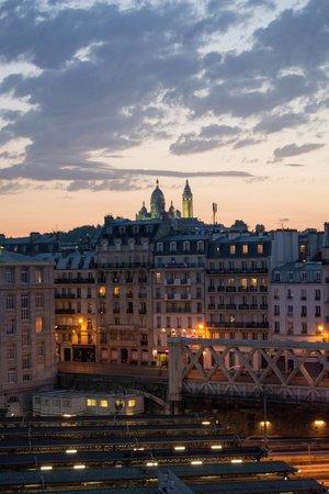 Ibis Styles Paris Gare de l'Est Château Landon : View of Sacre Cour