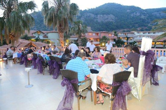 Turquoise Hotel: A la carte Restaurant