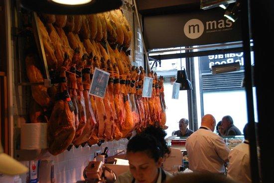 Mercado San Miguel: The best Jamon Iberico