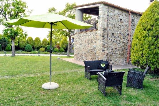Restaurant Marangels: amplio espacio exterior