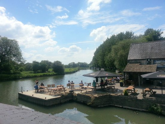 View Of The Pub From Across The River Picture Of The